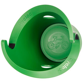 Cycloc Solo Garmin Edge Houder, green